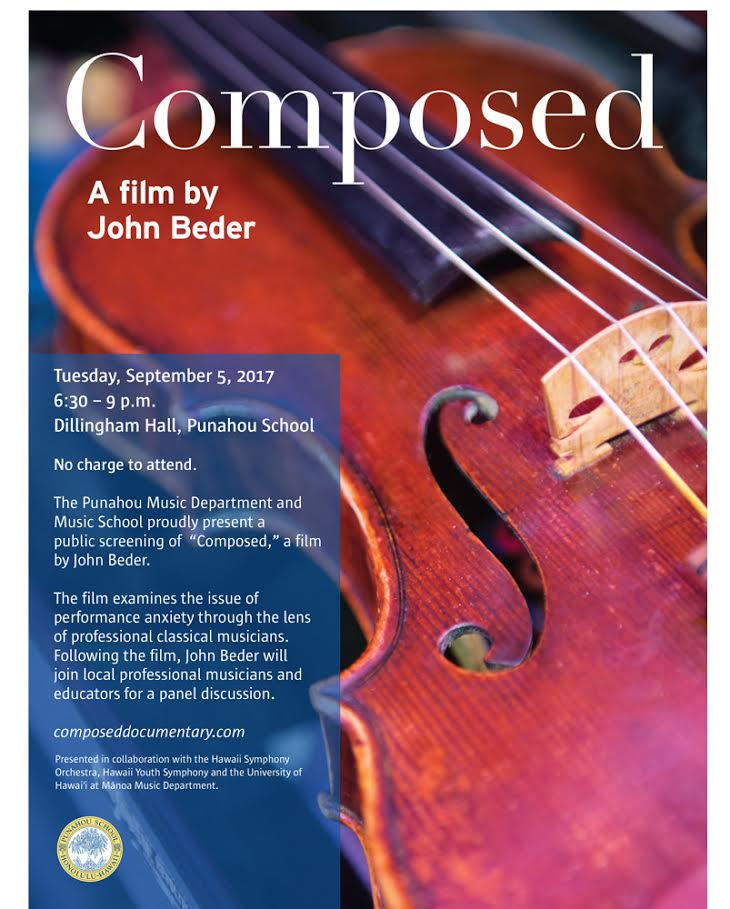 """COMPOSED"" — a film by John Beder"